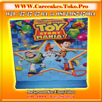 background kue ulang tahun Toys Story