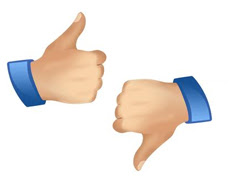 """How To Add """"Thumbs Up"""" Rating Widget to Blogger"""