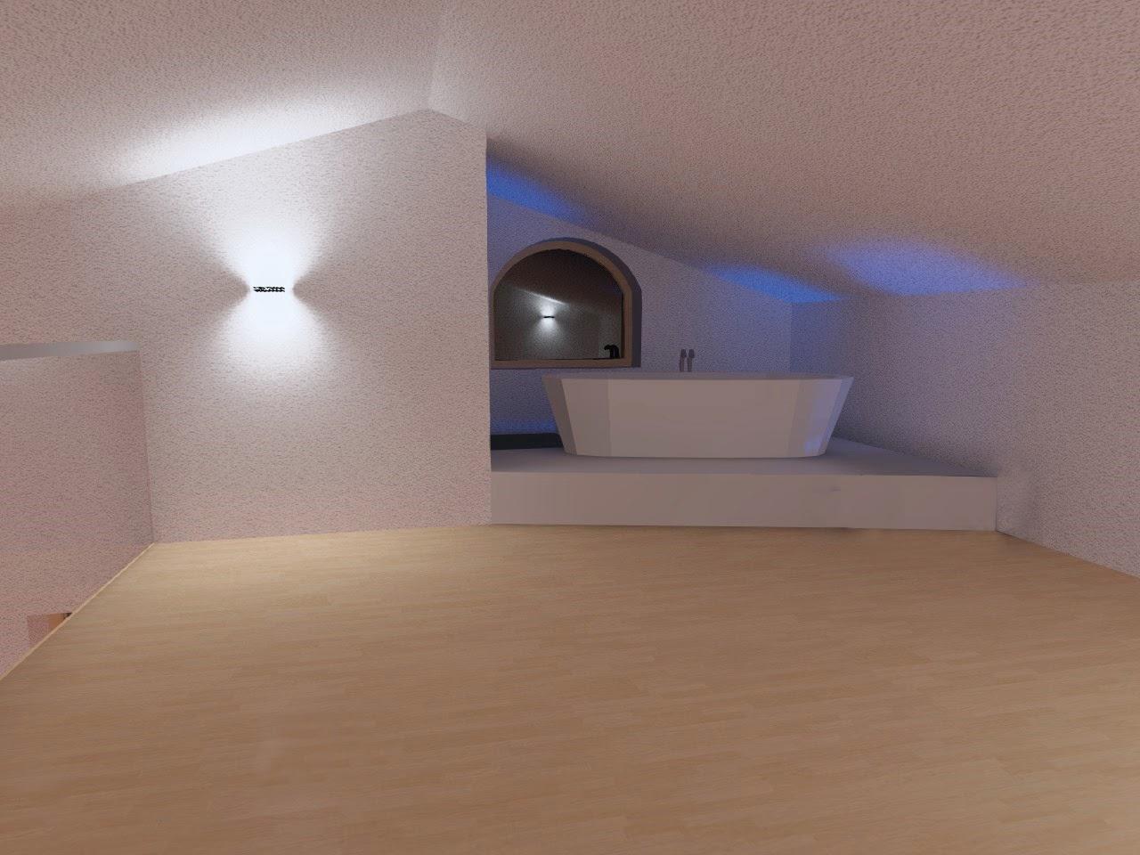 Illuminazione led casa illuminazione led casa lelide led torino presenta la progettazione - Illuminazione bagno led ...