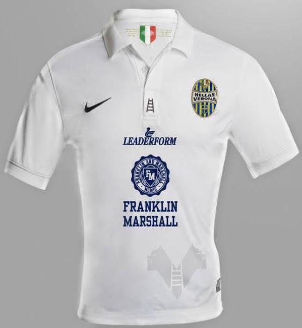 Serie a released leaked football kits 2014 15 season for Uniform verona