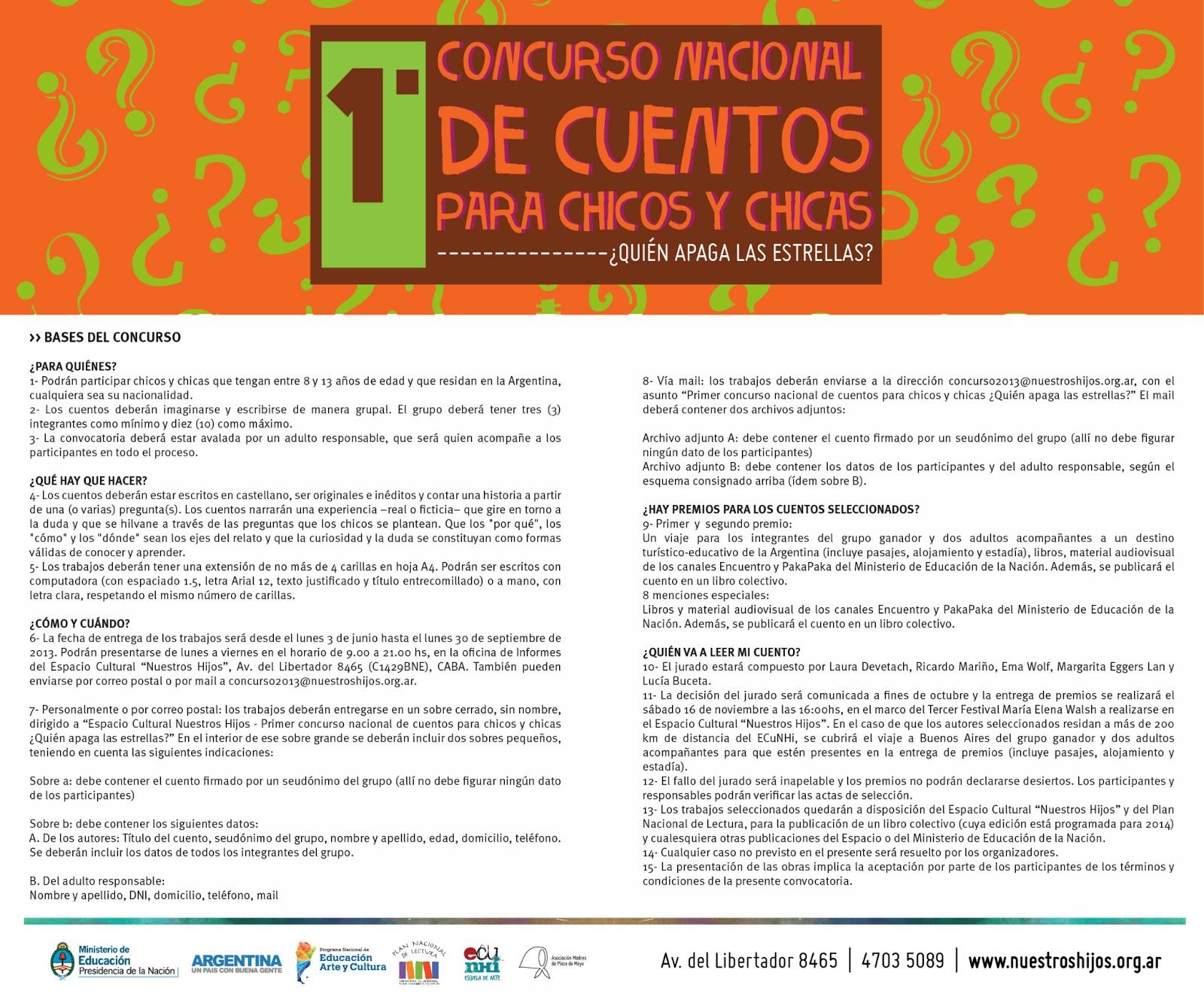 Sala de maestros de la domi 2 1er concurso infantil de for Concurso para maestros