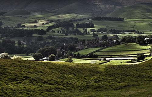 Amazing Yorkshire Dales Landscape