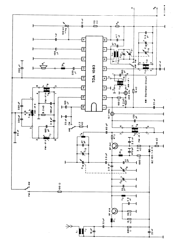 Circuit Diagram Of Am Fm Radio