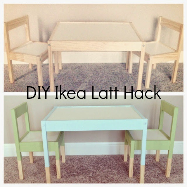 DIY: IKEA LATT HACK