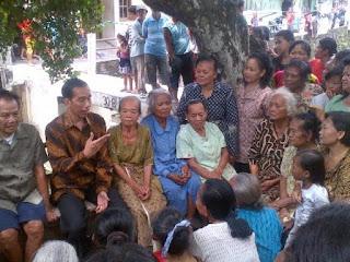 Kunjungan Jokowi Kelapangan