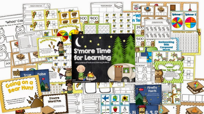 http://www.teacherspayteachers.com/Product/Smore-Time-for-Learning-1228023