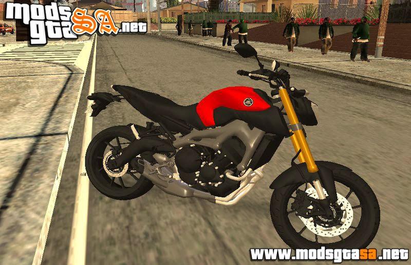 SA - Yamaha MT-09