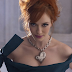 Christina Hendricks Lands Gig with Vivienne Westwood Jewelry; Rocks Cleavage in NY (PICS)