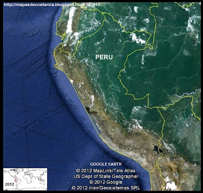 PERU, Google Earth