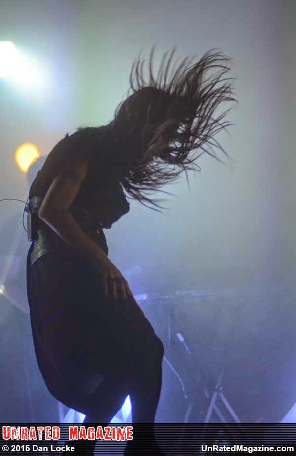 Zola Jesus in Chicago, photo by Dan Locke