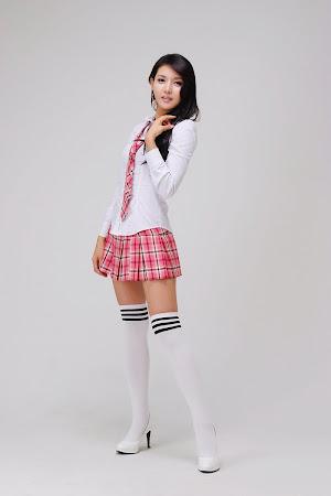 Cha Sun Hwa, Cute School Girl 09