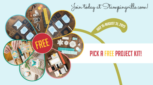 Stampin' Up! Starter Kit + Free Project Kit