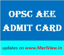 Odisha PSC Assistant Executive Engineer Admit card 13 December 2015