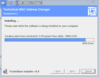 Cara Install TMAC - Tools Ubah MAC Address PPOB Bukopin