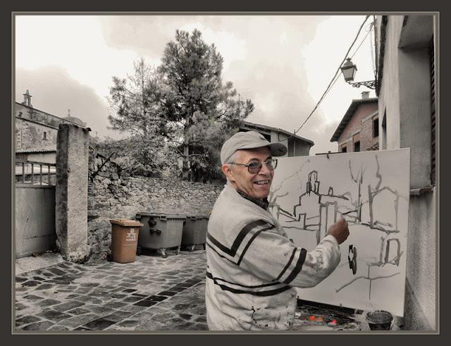 SANT BOI DE LLUÇANES-PINTURA-OSONA-BARCELONA-POBLES-PAISATGES-PINTORS-FOTOS-PINTOR-ERNEST