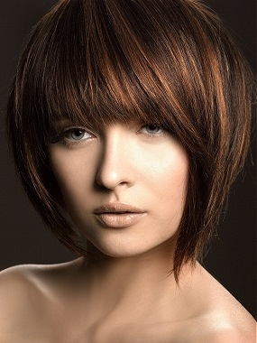 Bob Hairstyle with fringe - More Hairstyles