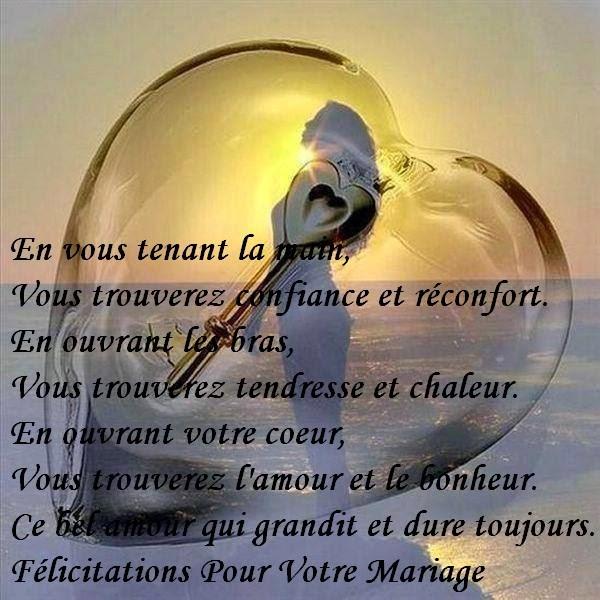 texte et carte flicitations de mariage gratuite a imprimer - Texte De Felicitation De Mariage