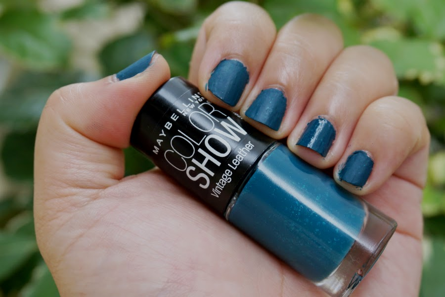 Maybelline Color Show Nail Lacquer in Antique Teal