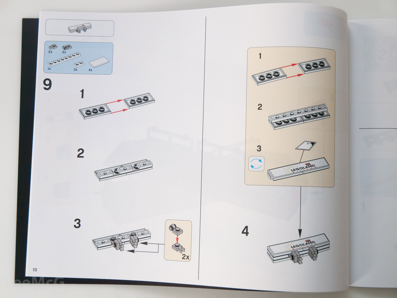 replacement lego instruction books