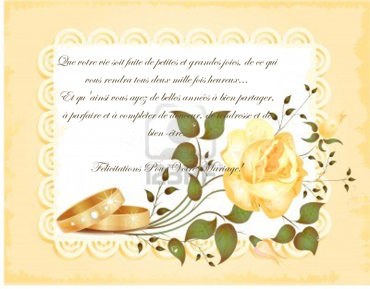 free printable wedding congratulations cards - Texte De Flicitation Mariage