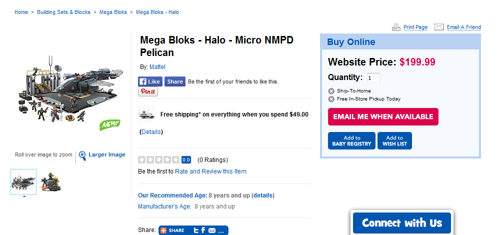 Halo 4 deals toys r us