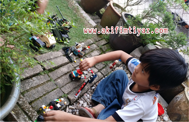 Akif Punya Lego Umi Abah Yang Stress