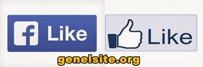Facebook beğeni ve paylaş tuşunu yeniliyor