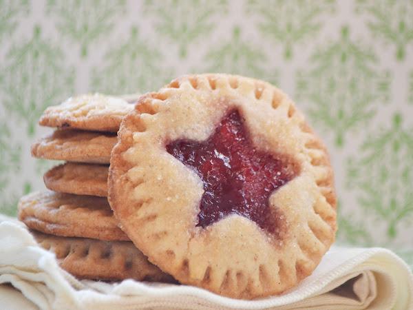 Almond Raspberry Cookies