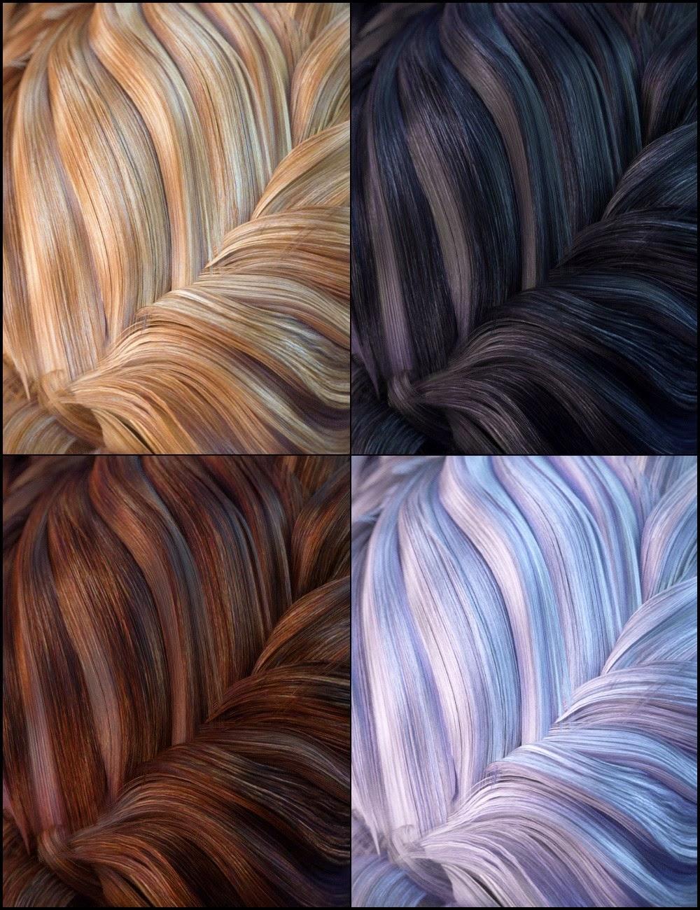 Couleurs pour Augusta cheveux