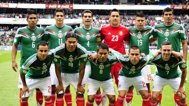 MEXICO PLAYERS- 2014 FIFA WORLD CUP