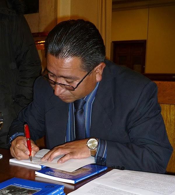 Ramiro Fernández  Quisbert historiador boliviano