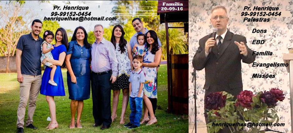 EBD NA TV - Pr. Henrique Para nos agendar - 99-9152-0454 Tel TIM e WhatsApp