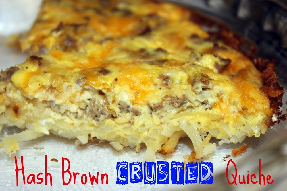 Mommy to my Tommy: Hash Brown Crusted Quiche