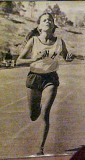 Running the 1600 for the University of New Mexico back in 1976 & 1977 Lettered in Track & Field