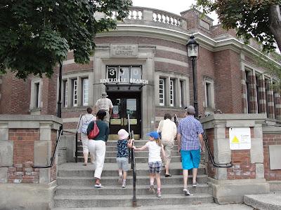 Entrance to Riverdale branch