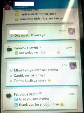 Satchi's Customer Testimonial