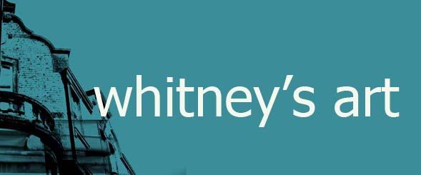 whitney's weird stuff