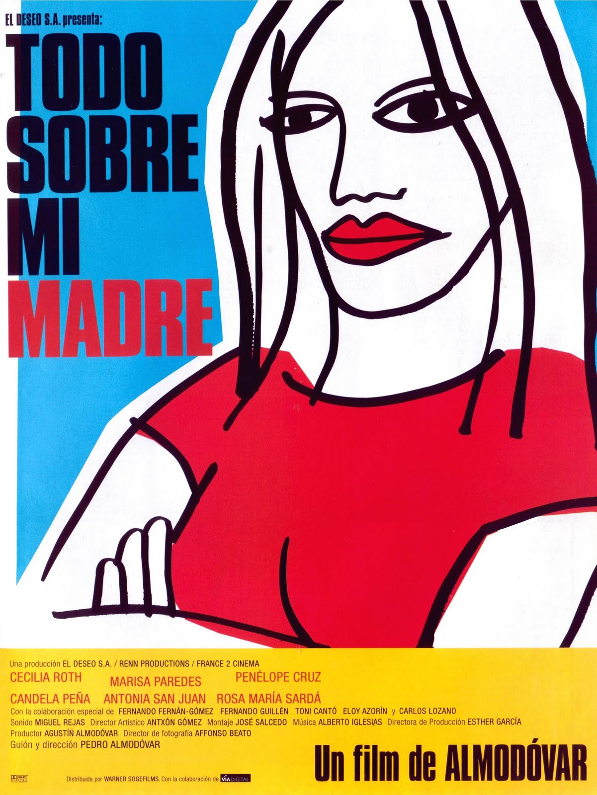 a review of todo sobre mi madre all about my mother essay All about my mother (1999), aka todo sobre mi madre information, ranked #140 by films 101, directed by pedro almodóvar, starring cecilia roth, marisa paredes, candela peña, penélope cruz.