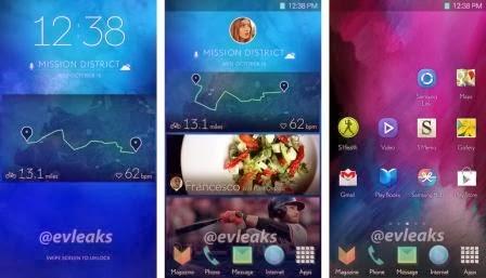 UI terbaru Samsung bocor, bisa jadi ini UI dari Galaxy S5