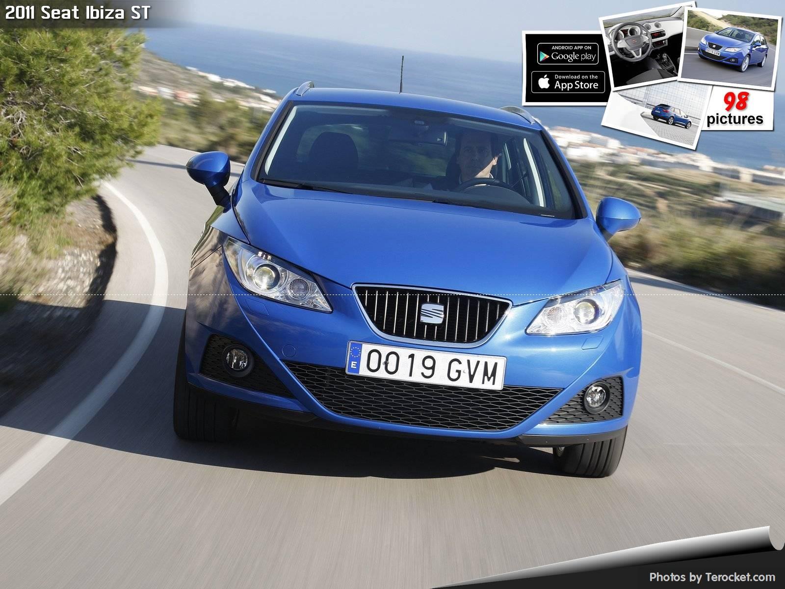 Hình ảnh xe ô tô Seat Ibiza ST 2011 & nội ngoại thất