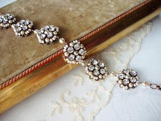 crystal bracelet, rhinestone bracelet, bracelets, bridal jewelry, wedding bracelets, bridal jewellery, vintage wedding, vintage pearl, bridal sets,Victorian jewelry, rhinestone bracelets