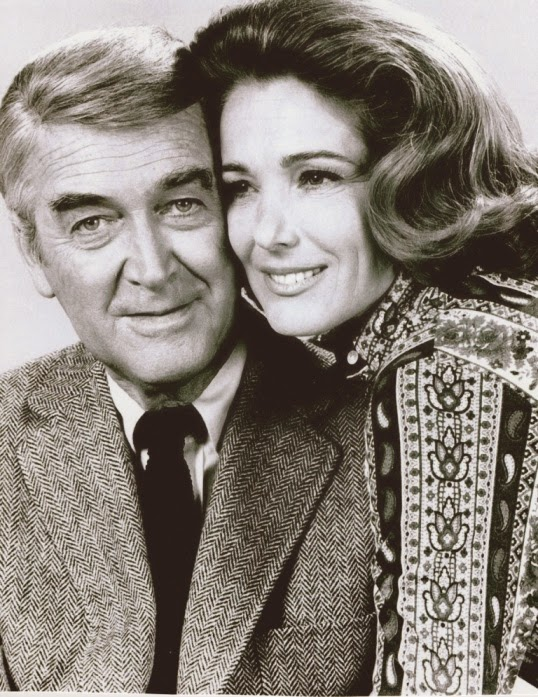Julie with Jimmy Stewart