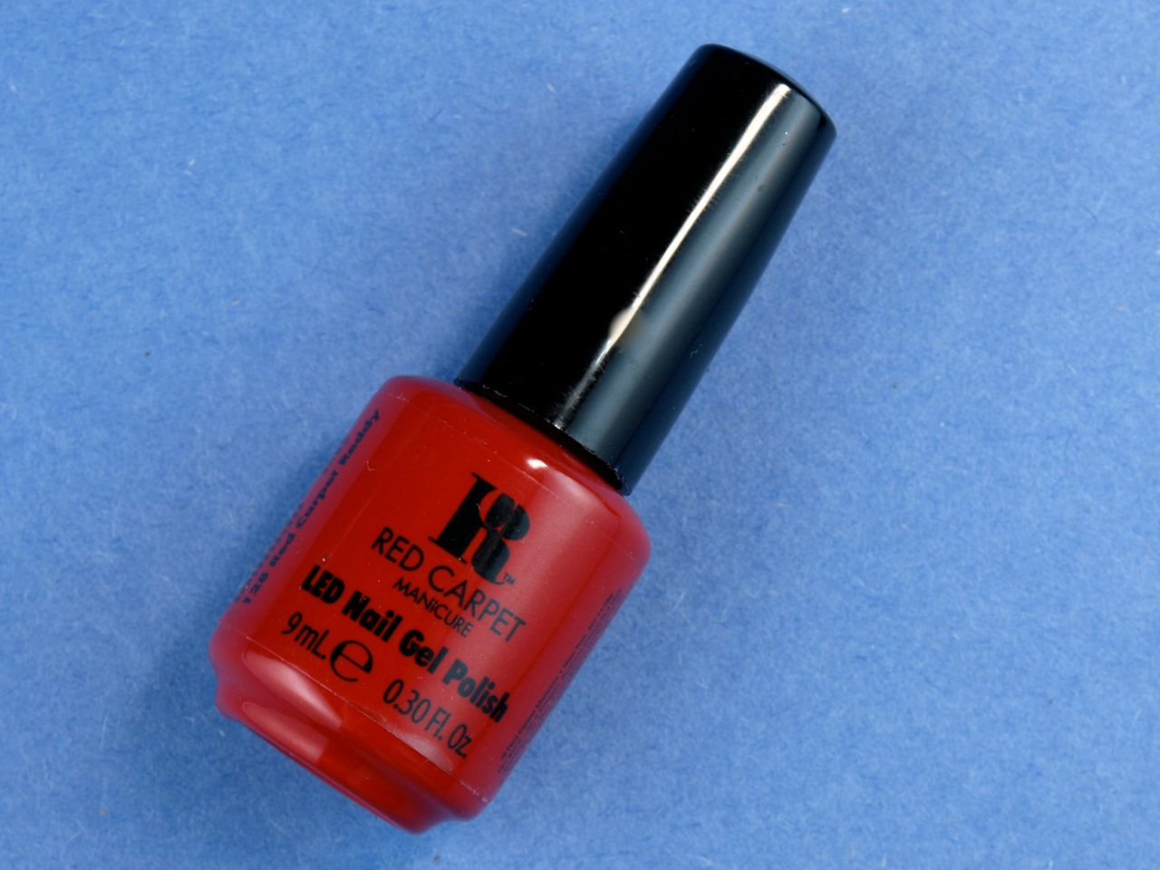 "Red Carpet LED Nail Gel Polish in ""Red Carpet Reddy"""