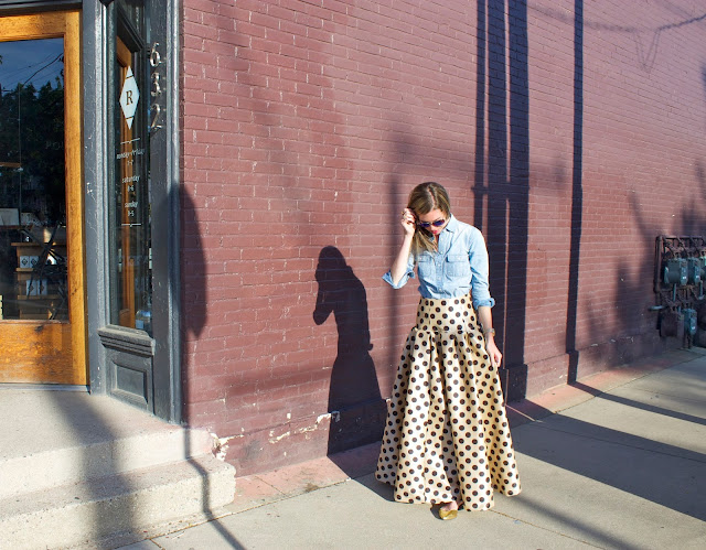 Project Soiree, Polka Dots, Skirt, Fashion, Style