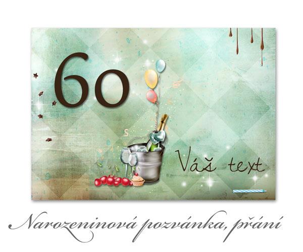 Pozvánky na narozeniny přání
