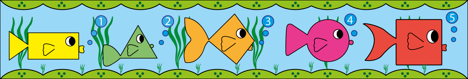 Sgblogosfera mar a jos arg eso cenefas de peces - Cenefas de papel infantiles ...