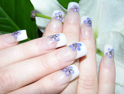 acrylic nail art. Simple nail designs How do