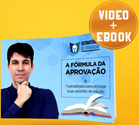 E-book Estratégias para Aprovação - Gratuito