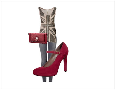 Outfit - Rote Pumps 02