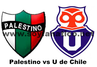 Universidad de Chile vs Palestino - Futbol Chileno 2013